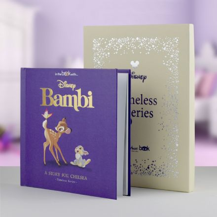 Bambi Timeless Disney Book.. Personalised